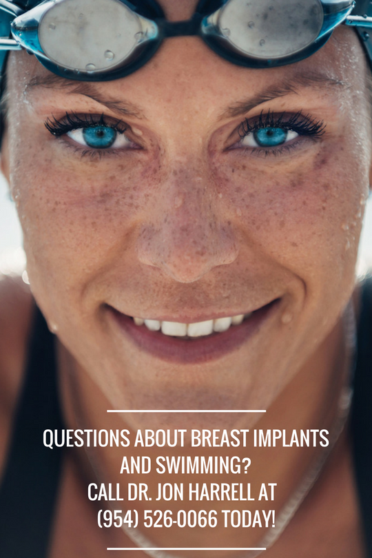 Do breast implants interfere with swimming? Not for most women. To learn more, contact Weston, FL plastic surgeon Dr. Jon Harrell and schedule a breast augmentation consultation today!
