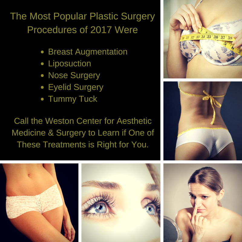 Popular Weston Plastic Surgery Procedures